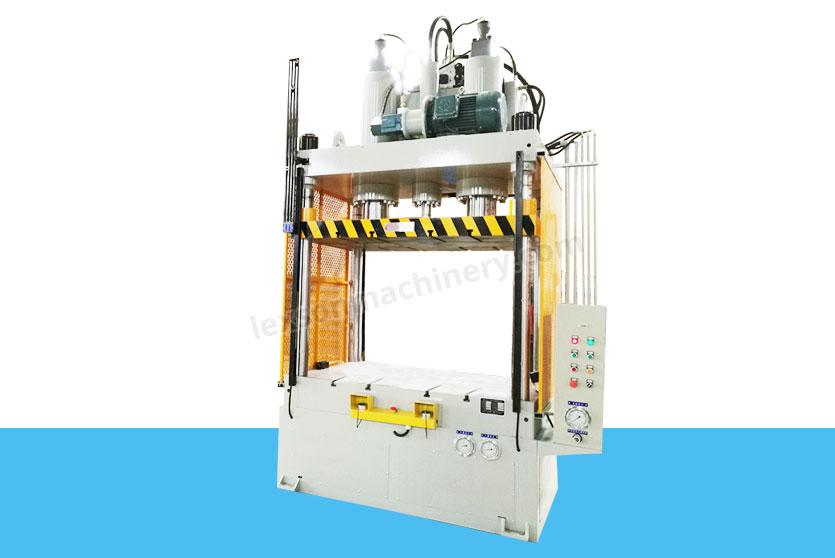 4-post hydraulic trimming press