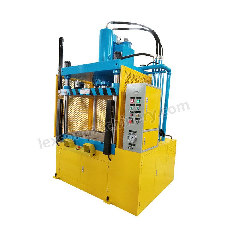 hydraulic 4 post press machine