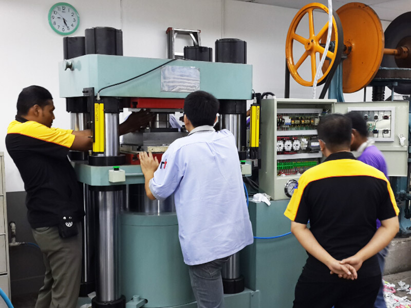 hydraulic press maintenance & installation