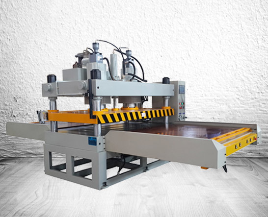 hydraulic die cutting press