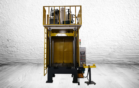 4-post 100 ton trim press