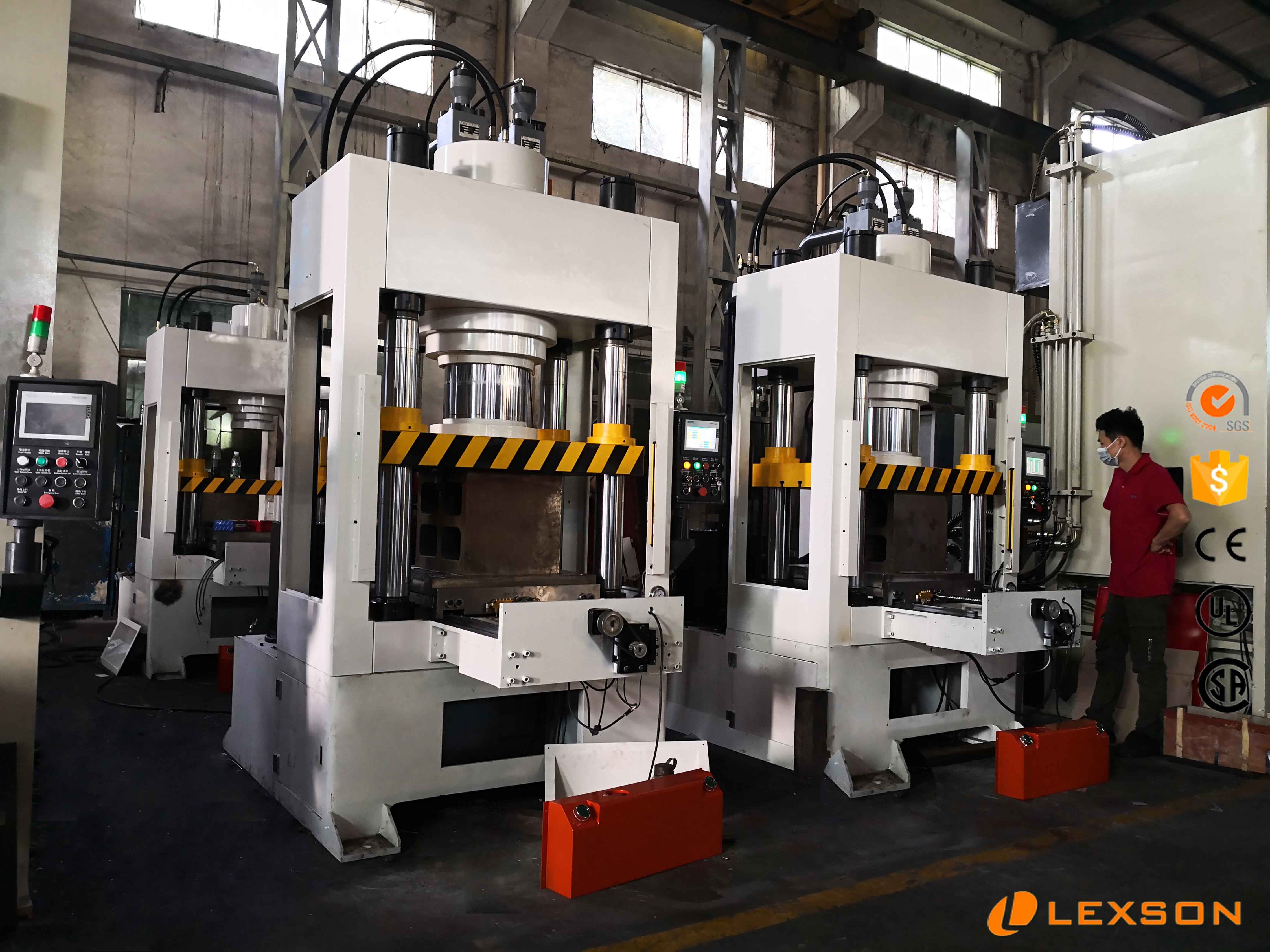 servo hydraulic press machine