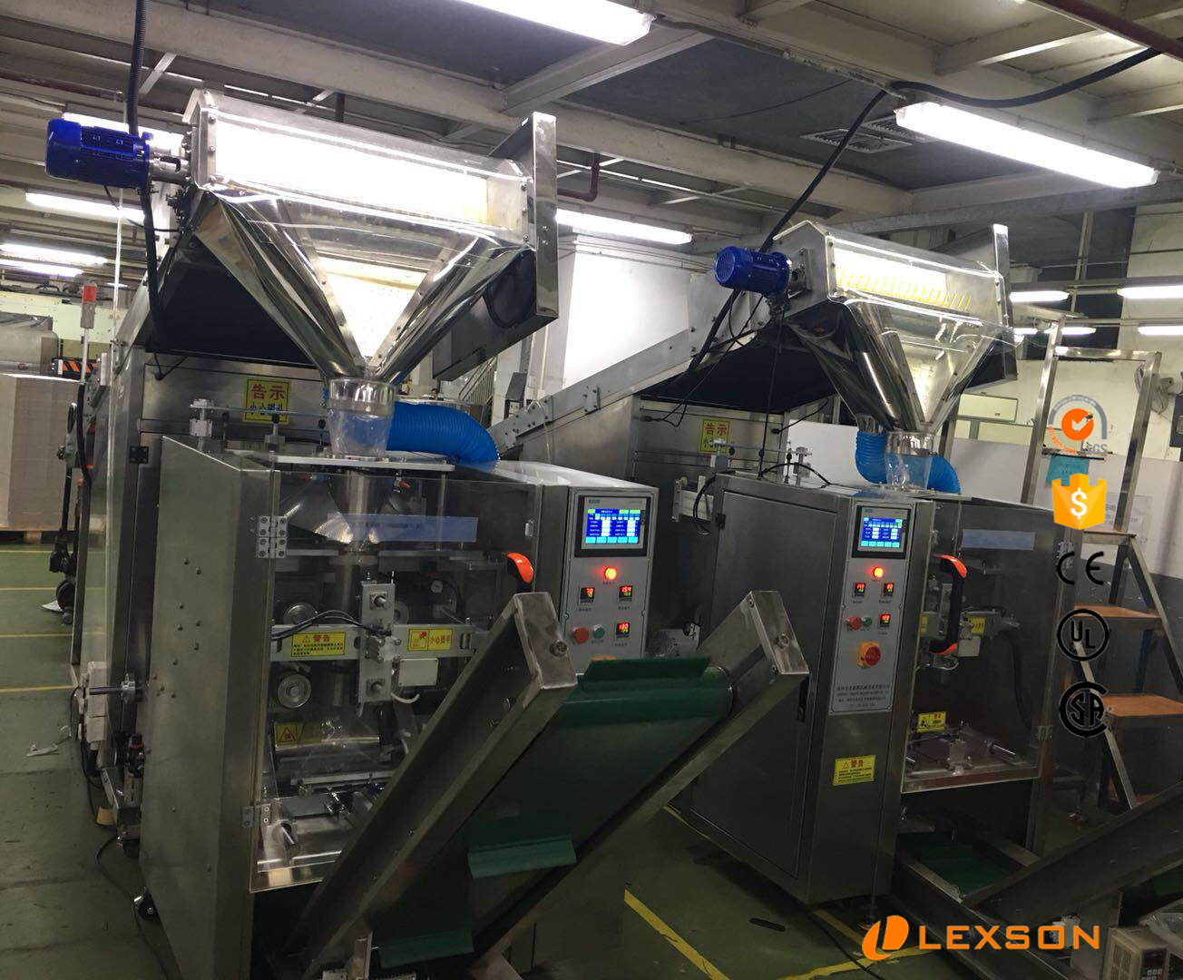 lexson automatic puzzles scattering bagging system