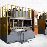 custom made composites forming machine