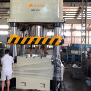 custom-made 4 post hydraulic press machine