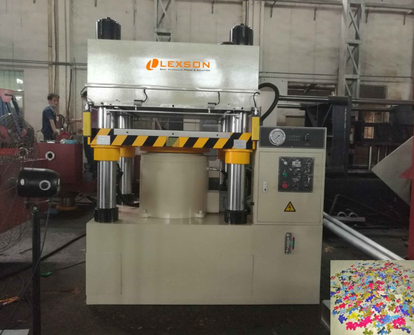 500 ton jigsaw puzzle cutting machine
