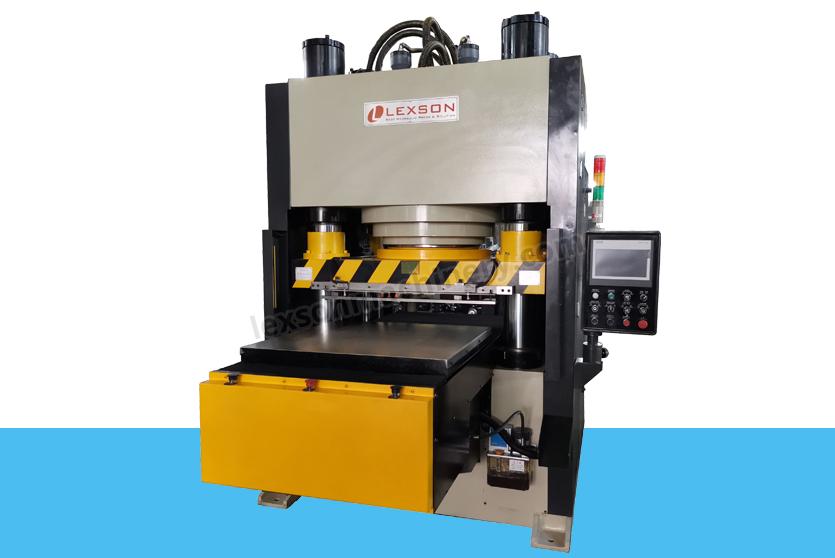 4 post 600 ton jigsaw puzzle cutting machine