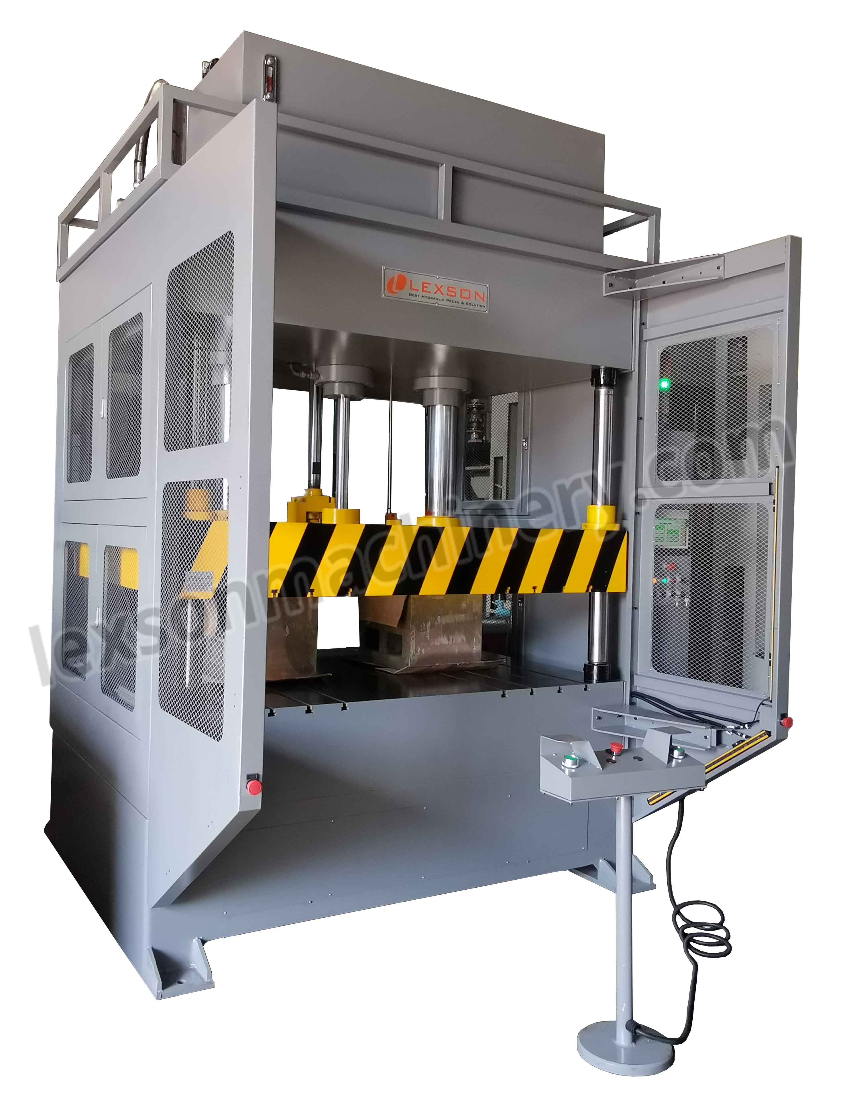50 ton 4 post hydraulic press manufacturers suppliers