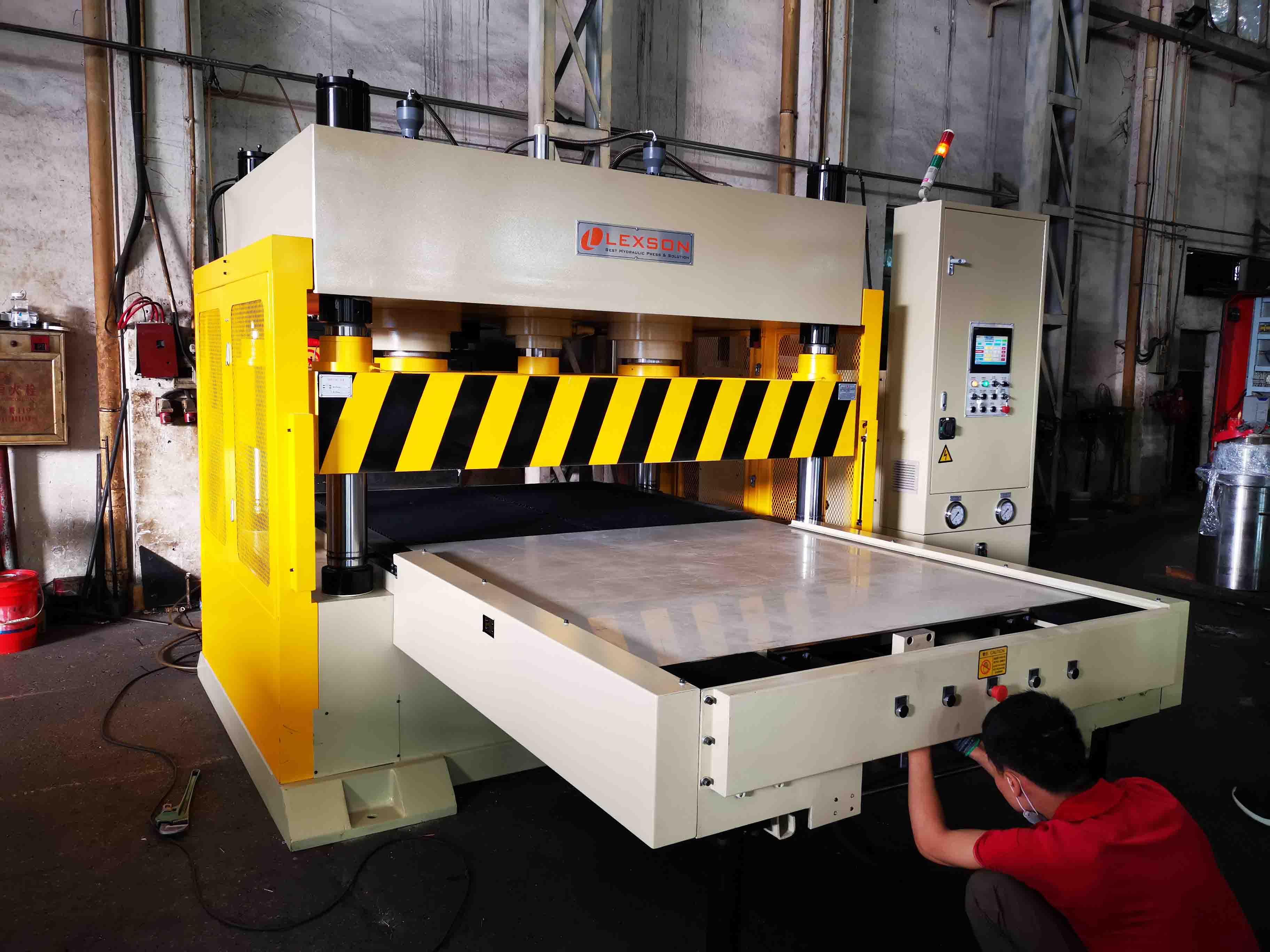 hydraulic-leather-cutting-machine
